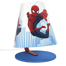 Disney Spiderman Blue Table Lamp