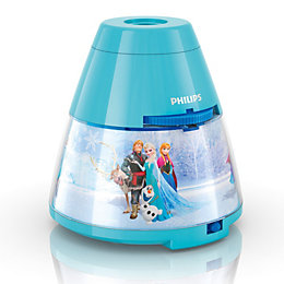 Disney Frozen Blue Projector Lamp