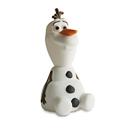 Disney Frozen White Olaf Softpal Night Light (D)7.9cm