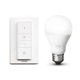 Philips Hue Wireless Dimmer & LED E27 Smart