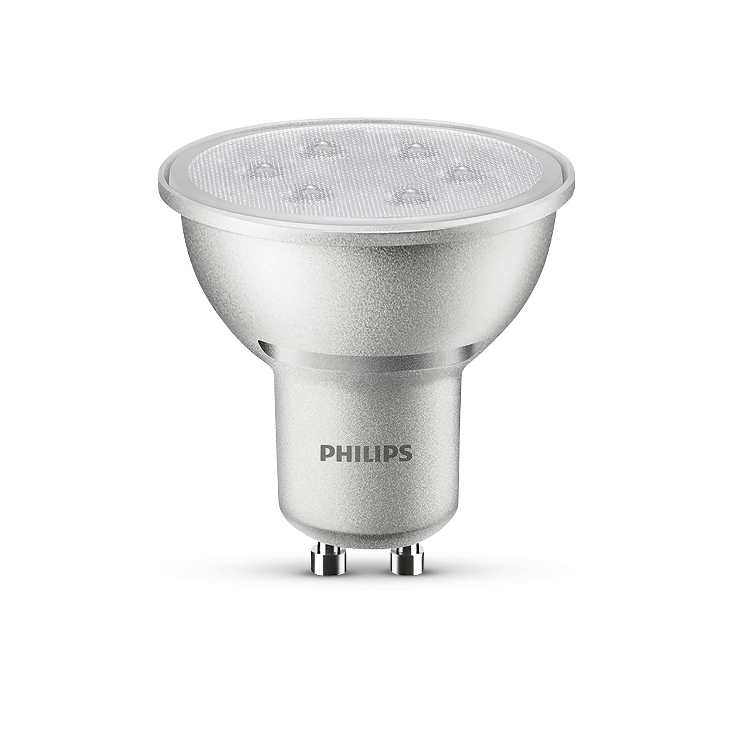 philips gu10 240lm led dimmable reflector spot light bulb. Black Bedroom Furniture Sets. Home Design Ideas