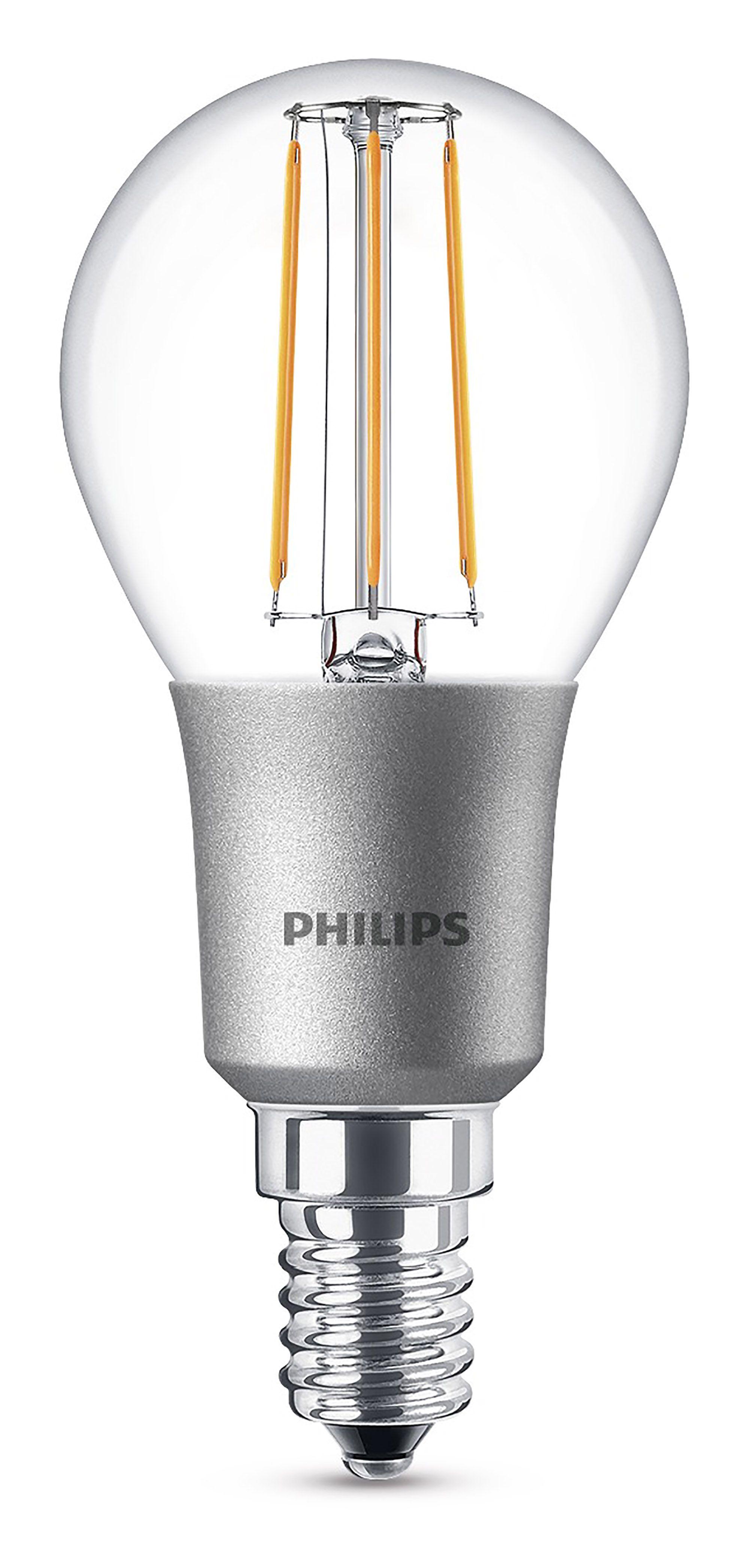 Philips E14 470lm Led Dimmable Mini Globe Light Bulb