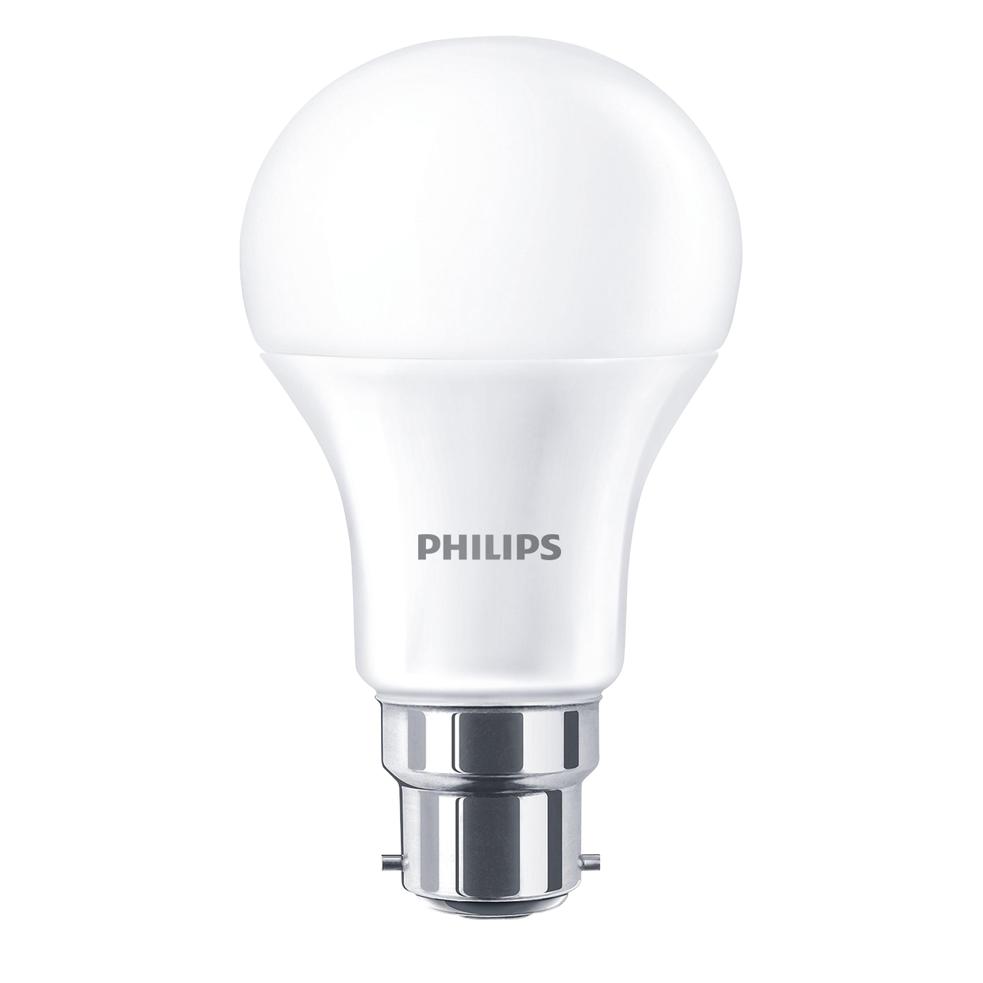 Philips B22 470lm Led Classic Light Bulb