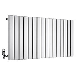 Ximax Vulkan Square Horizontal Radiator White (H)600 mm
