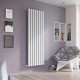 Ximax Vulkan Square Horizontal Radiator White, (H)600 mm