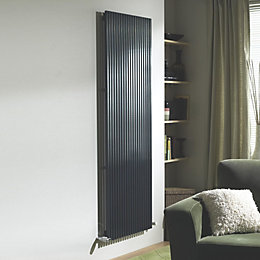 Ximax Quadro Vertical Radiator Anthracite, (H)1800 mm (W)440