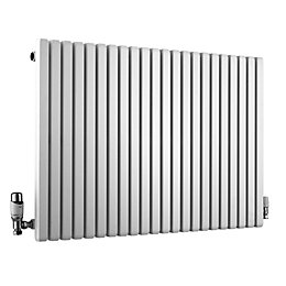 Ximax Supra Square Horizontal Radiator White, (H)600 mm