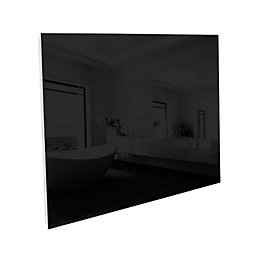 Ximax Infrared Glass Horizontal Radiator Black, (H)600 mm