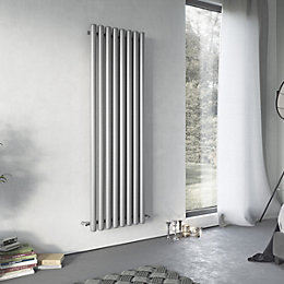 Ximax Vulkan Vertical Radiator Grey (H)1800 mm (W)585
