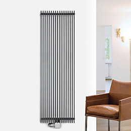 Ximax Atlas Vertical Radiator Anthracite, (H)1800 mm (W)410