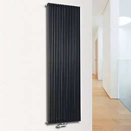 Ximax Triton Vertical Radiator Anthracite, (H)1800 mm (W)450