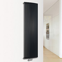 Ximax Triton Curve Vertical Radiator Anthracite (H)1800 mm