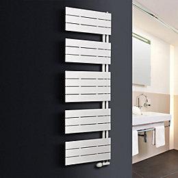 Ximax Vertirad Open White Towel Warmer (H)1495mm (W)600mm