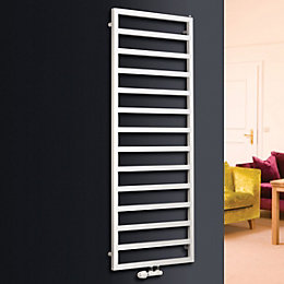 Ximax Pure White Towel Warmer (H)1470mm (W)600mm