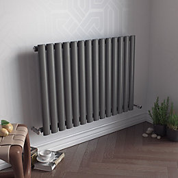 Ximax Fortuna Vertical Radiator Anthracite, (H)600 mm (W)1180