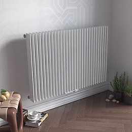 Ximax Atlas Horizontal Radiator White, (H)600 mm (W)1190