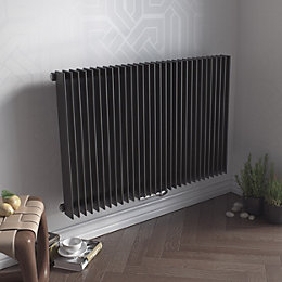 Ximax Atlas Horizontal Radiator Anthracite (H)600 mm (W)1190