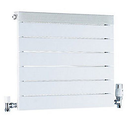 Ximax Viola Horizontal Radiator White, (H)500 mm (W)500