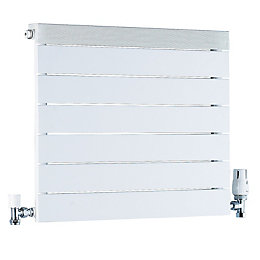 Ximax Viola Horizontal Radiator White, (H)500 mm (W)600