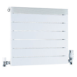 Ximax Viola Horizontal Radiator White, (H)650 mm (W)500