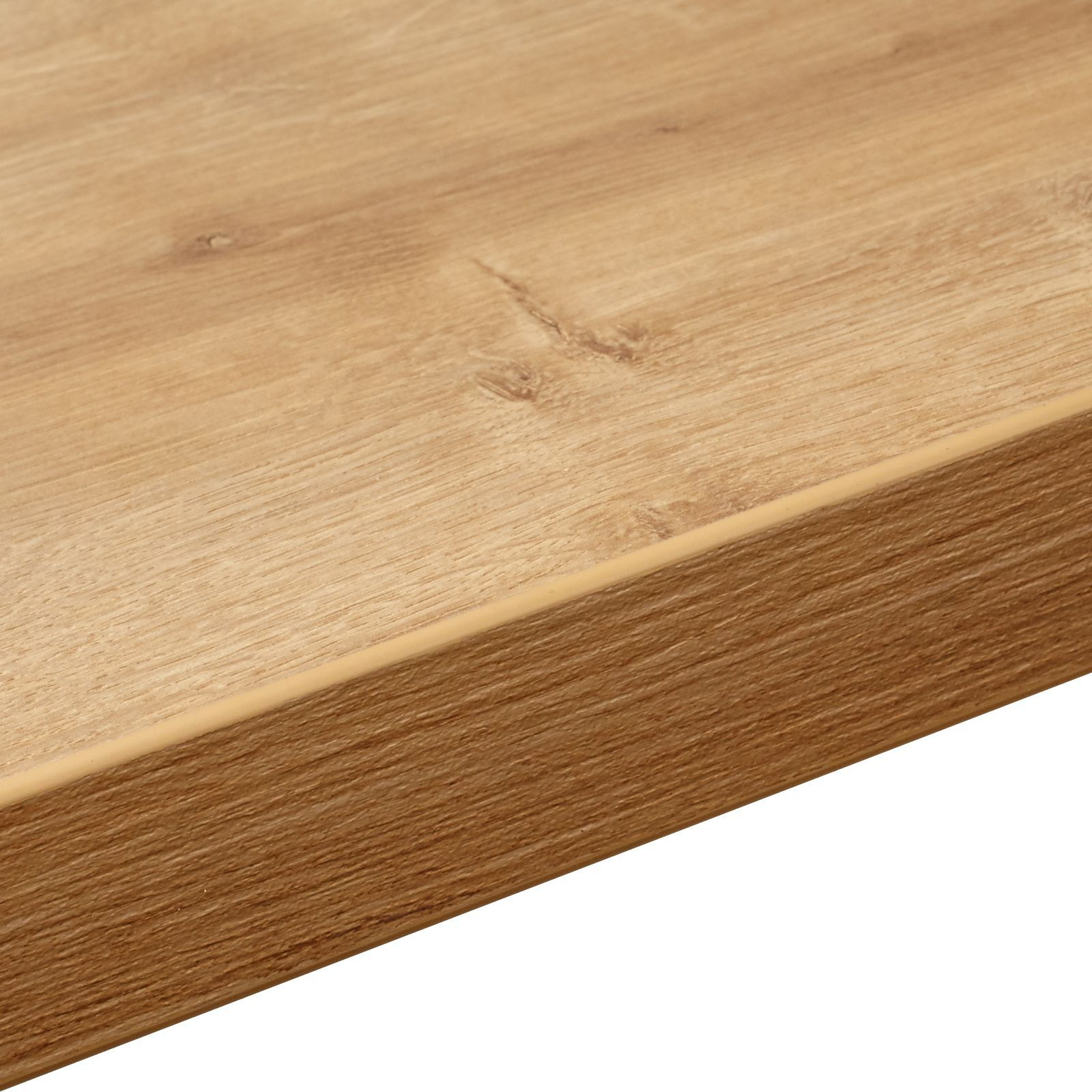 Bathroom Cabinets Uk Bq 38mm Bq Arlington Oak Square Edge Kitchen Worktop L3m D600mm
