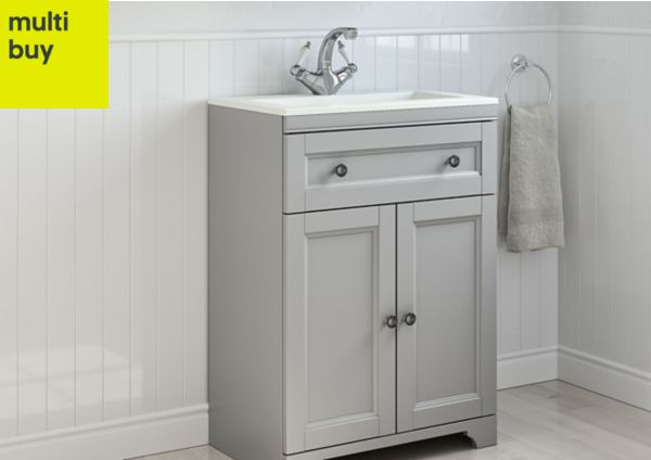 fresh stock of b and q bathroom vanity units