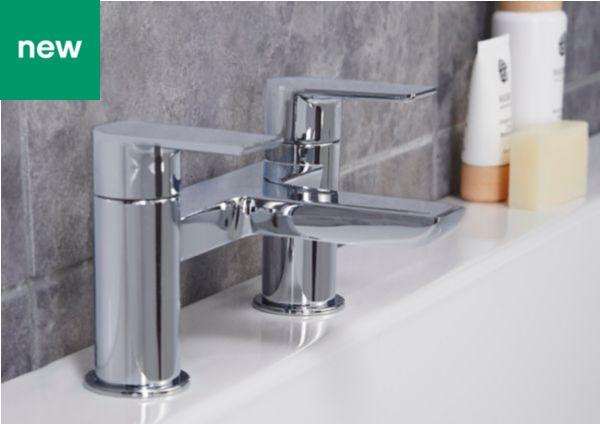 Glass Bathroom Sinks B&Q bathroom taps | basin & bath taps | diy at b&q