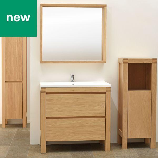 Glass Bathroom Sinks B&Q bathroom cabinets & furniture | bathroom storage | diy at b&q