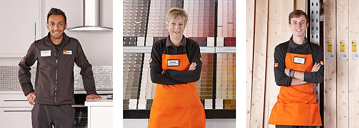 Image of B&Q staff