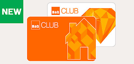Join the B&Q Club to receive money off vouchers, access to Club exclusive deals, great ideas and advice for your DIY projects and digital receipts sent straight to you. Become a member in store at your local B&Q or online today.