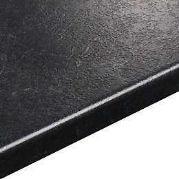 38mm Basalt Stone Effect Round Edge Worktop (L)3600mm