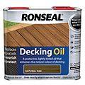 Ronseal Natural Oak Decking Oil 2.5L