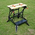 Black & Decker Foldable Vice Jaw Clamp Workbench, (W)610mm
