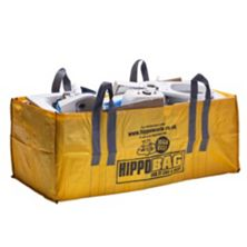 Hippobag Woven Polypropylene More Than Just A Bag! Hippobags Are The Best Alternative to Traditional Skip Hire. Simply Buy A Bag, Fill It Up, Then Call Hippo to Book & Pay For A Collection. Waste Disposal Made Easy. Megabag