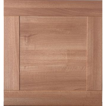 IT Kitchens Westleigh Walnut Effect Shaker Oven Housing Door (W)600mm
