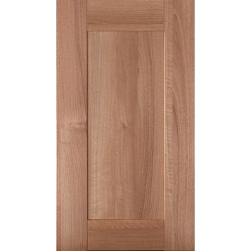 IT Kitchens Westleigh Walnut Effect Shaker Standard Door (W)400mm