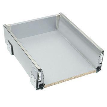 Cooke & Lewis Silver Effect Drawer Box