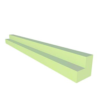 IT Kitchens Corner Post Gloss Cream Slab (H)715mm (W)32mm (D)32mm
