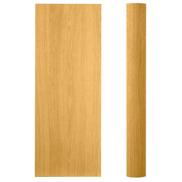 Cooke & Lewis Curved Tall Wall Pilaster Kit Clevedon (H)937mm (W)70mm (D)355mm