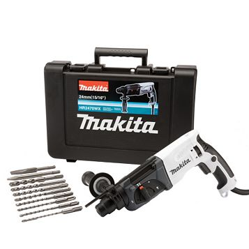 Makita 780W 240V Corded SDS Plus Hammer Drill HR2470WX/2