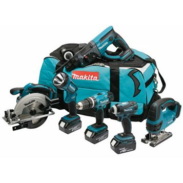 Makita 18V 6 Piece Power Tool Kit DLX6017PM