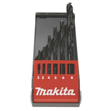 Makita HSS Drill Bit (Dia)6mm (L)93mm