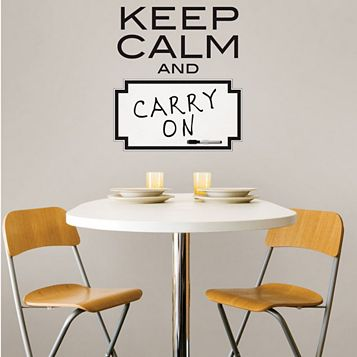 Wallpops Keep Calm Wall Sticker x (W)43cm