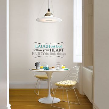 Wallpops Laugh Out Loud Self Adhesive Wall Sticker (H)330mm (W)740mm