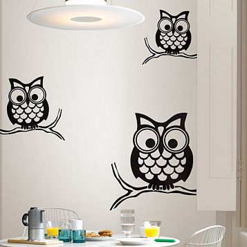 Wallpops Give A Hoot Wall Sticker x (W)74cm