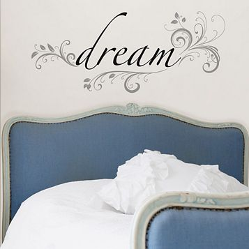 Wallpops Dream Self Adhesive Wall Sticker (H)320mm (W)740mm
