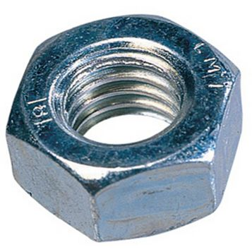 Easyfix M4 Steel Hex Nuts, Pack of 1000