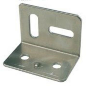 Zinc-Plated Steel Stretcher Plate, Pack of 10