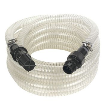 Reinforced Suction Hose with Filter (L)7m