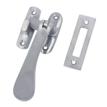 Chrome Hook & Mortice Fastener